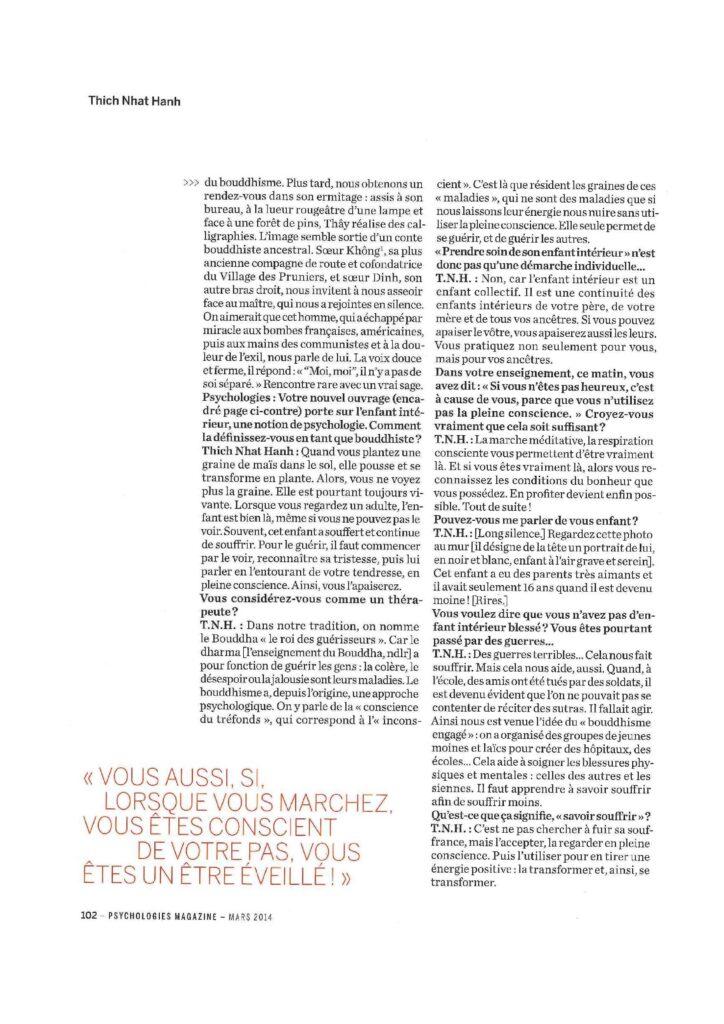 2014-03- Psychologies - French - PRENDRE SOIN DE L ENFANT INTERIEUR_PSYCHOLOGIES_Mars2014-page-003