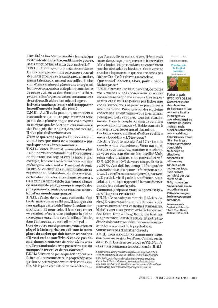 2014-03- Psychologies - French - PRENDRE SOIN DE L ENFANT INTERIEUR_PSYCHOLOGIES_Mars2014-page-004