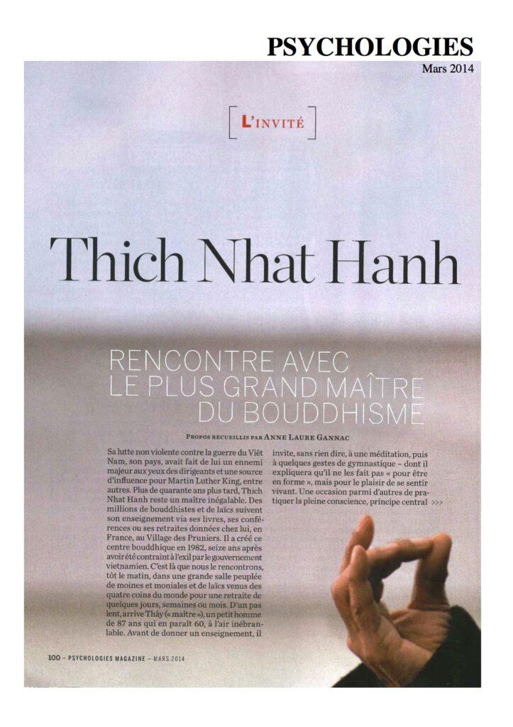 2014-03- Psychologies - French - PRENDRE SOIN DE L'ENFANT INTERIEUR_PSYCHOLOGIES_Mars2014