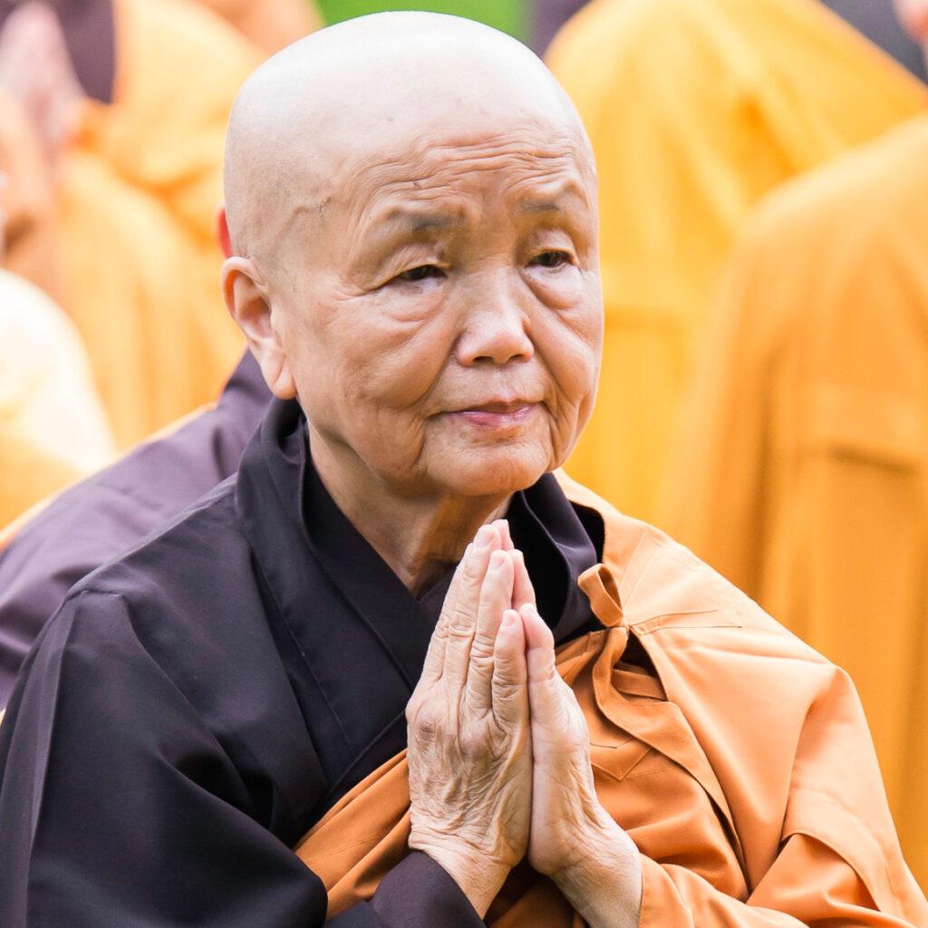 Sister Chan Khong - Hong Kong 2013 - copyright UBC