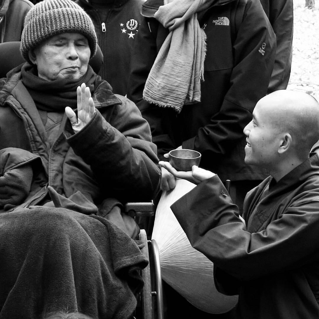 Thich Nhat Hanh Flies To Thailand Plum Village